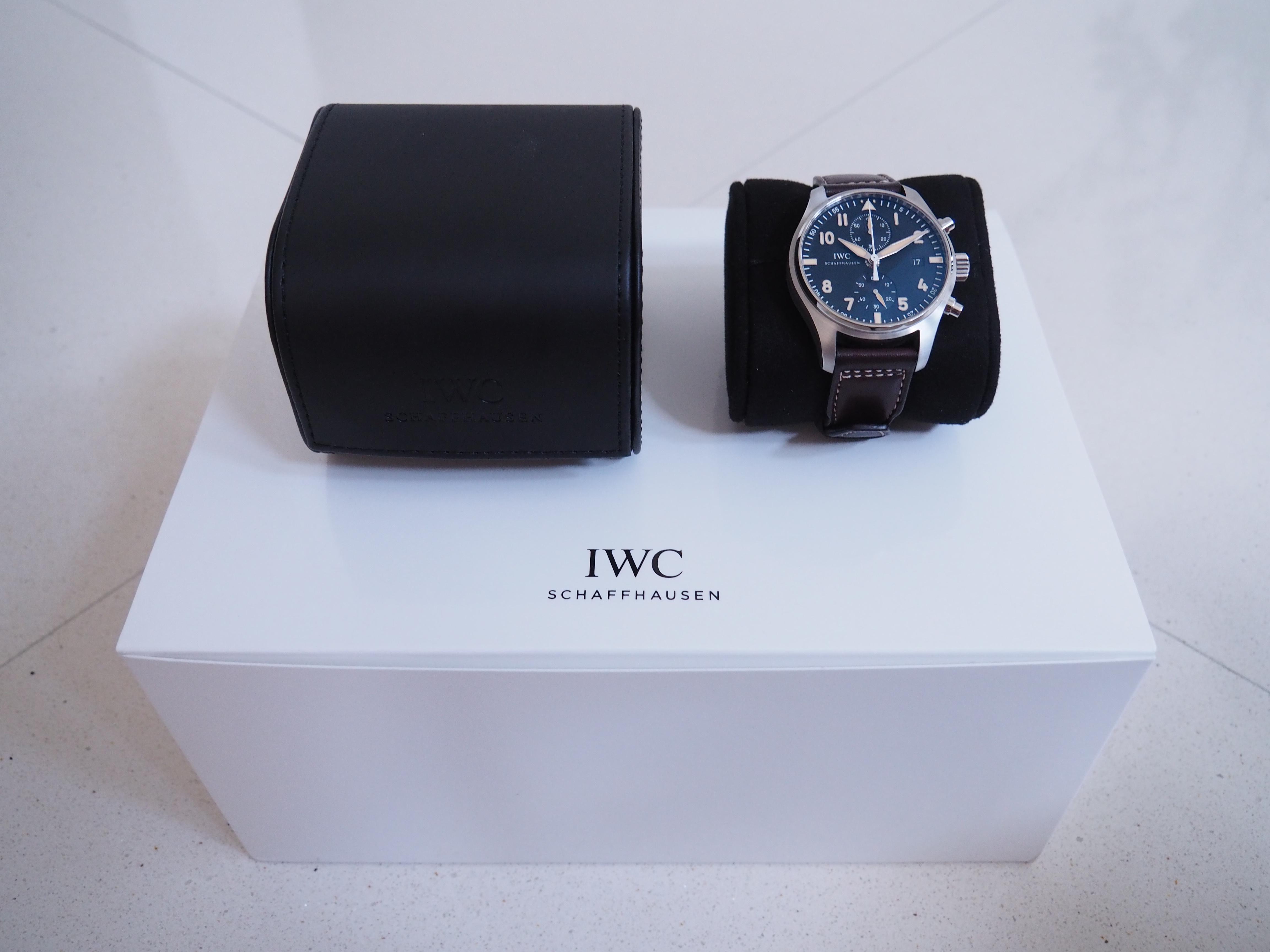 IWC Pilots Chronograph CF3 Edition